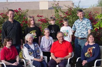 2003_12_25 4 Eklund Family
